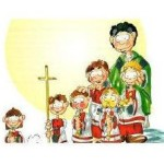 chierichetti con sacerdote